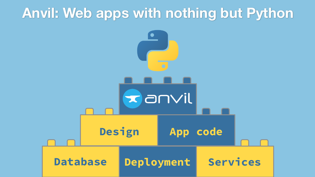Course: Anvil: Web apps with nothing but Python