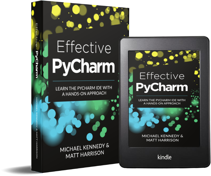 PyCharm course and book bundle